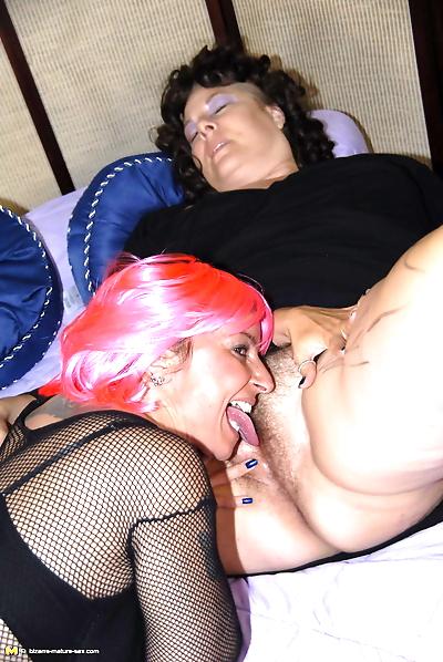 This big mature slut loves..