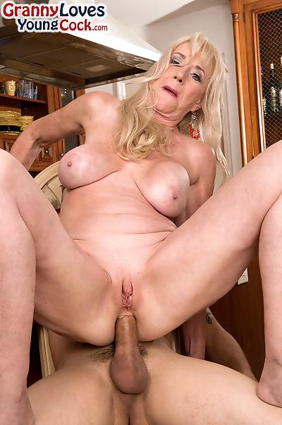 Hot grandmother Summeran..