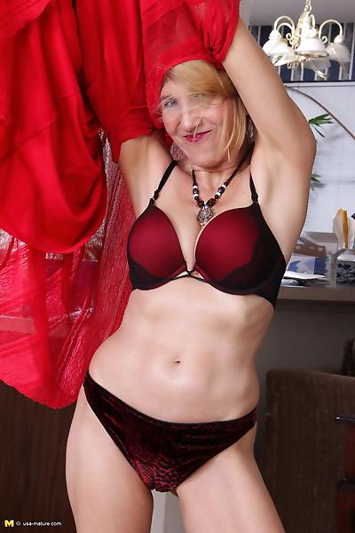 Naughty american mature lady..