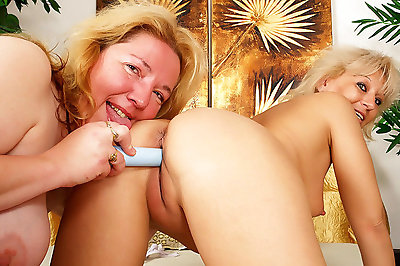 Two dirty granny whores in..