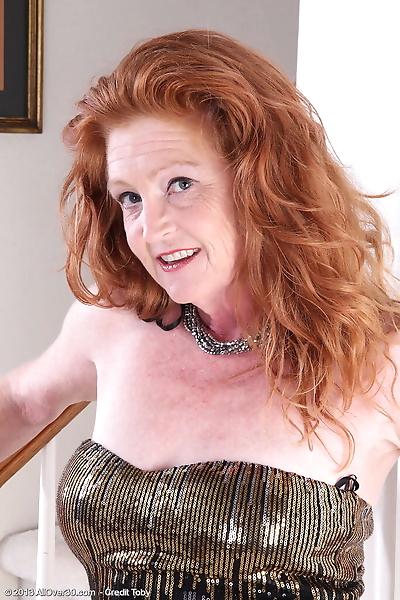 Hot redhead granny Tami..
