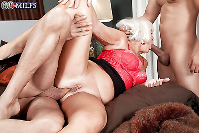 Cock starved granny Jeannie..