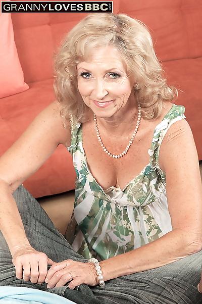 Horny old woman Connie McCoy..