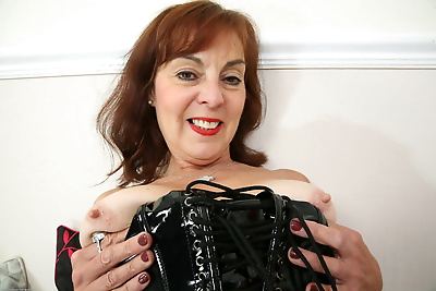 Sexy granny Georgie slips..