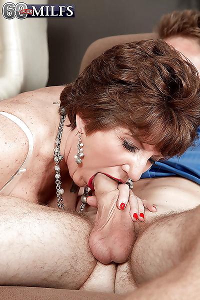 Naughty grandma Bea Cummins..