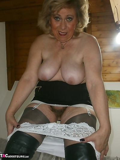 Mature lady next door in..