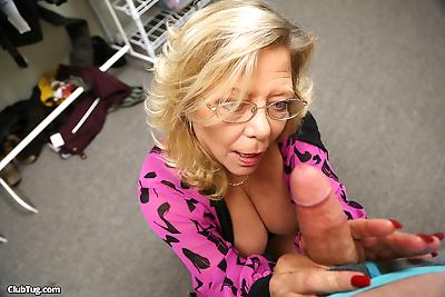 Blonde granny Karen Summers..
