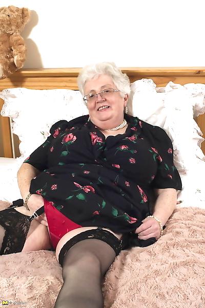 Older granny is still horny..