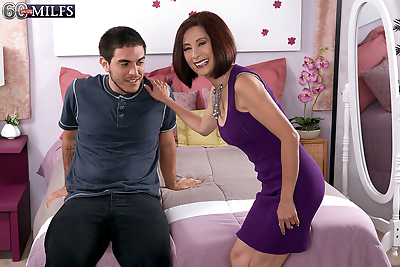 Hot mature Asian woman Kim..