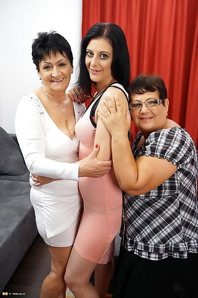 Old granny and fatty BBW..