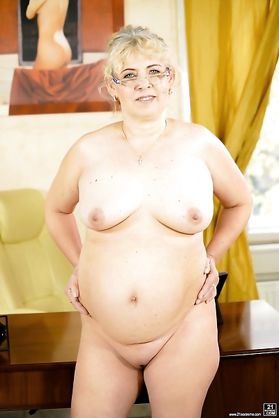 Blonde granny Viola Jones..