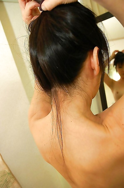 Asian gal with hard nipples..