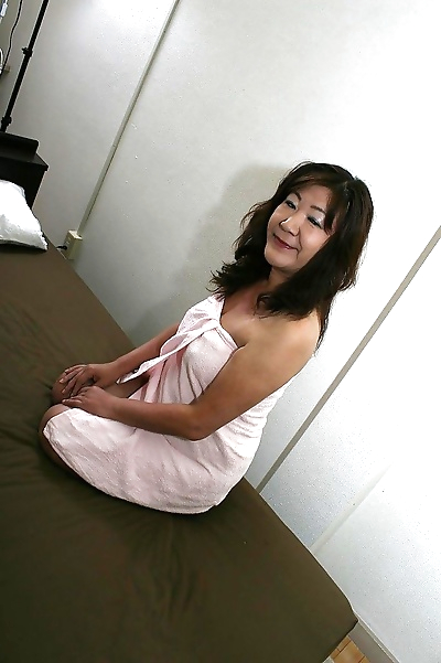 Saucy asian granny Michiko..