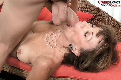Granny pornstar Sydni Lane..