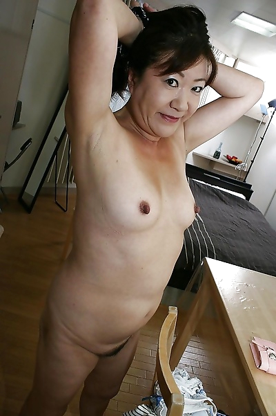 Naughty asian granny with..