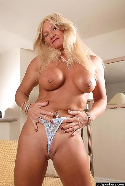 Granny blonde Roxy is..