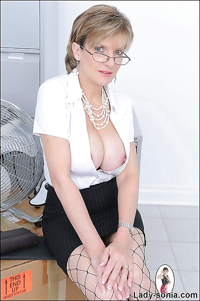 Mature secretary lady sonia..