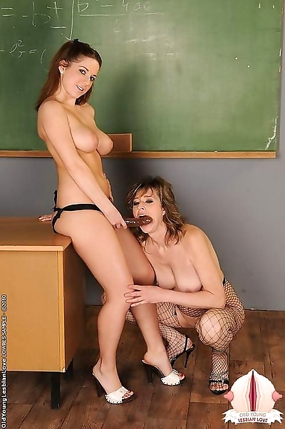 Nice titted student girl..