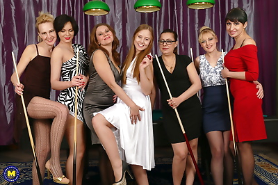 Seven old and young lesbians..