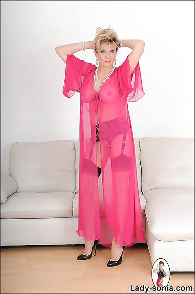 See through lingerie mature..