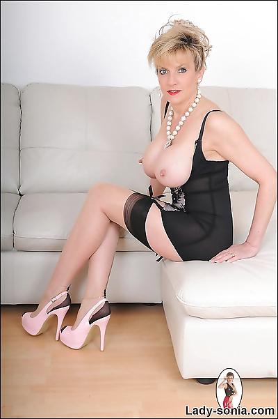 High end glamorous lingerie..