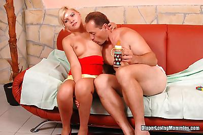 Szilvia gombos loves adult..