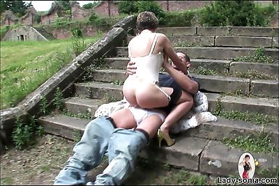 Sexy milf lady sonia fucks..