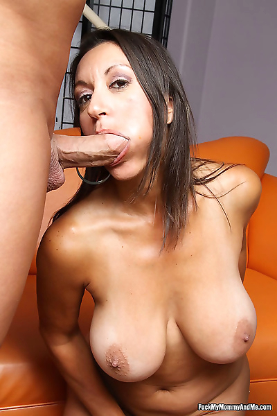 Huge cock fucking mom and..