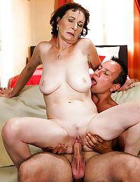 Granny fucks like a pornstar - part 6